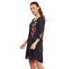 Eva Embroidred Flared Dress