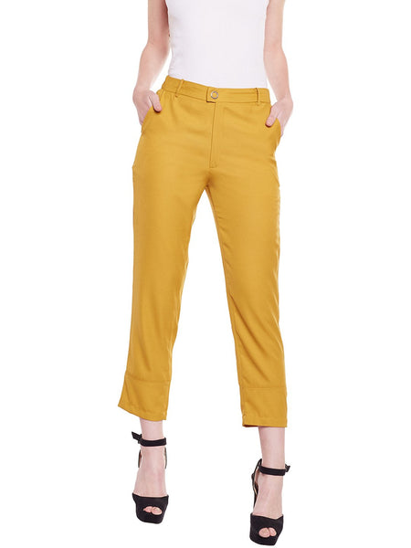 Loom Tree Mustard Pants
