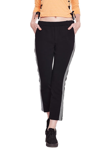 Loom Tree Side Panel Pants In Black
