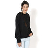 Ava Black Sleeved Top