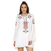 Welma Embroidered White Dress