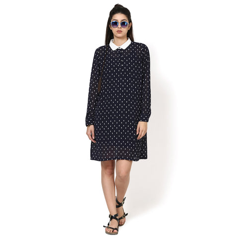 Tyra sleeved Shirt dress
