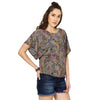 Jaya Easy Printed Top with wide Sleeves