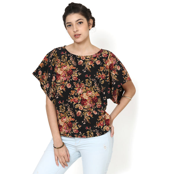 Lola Easy Top with wide sleeves