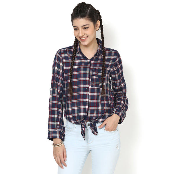 Olivia Easy Tie Up Shirt