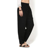 Arabella Black Twill Balloon Pants