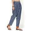 Adeline Blue Chambray Balloon  Pants