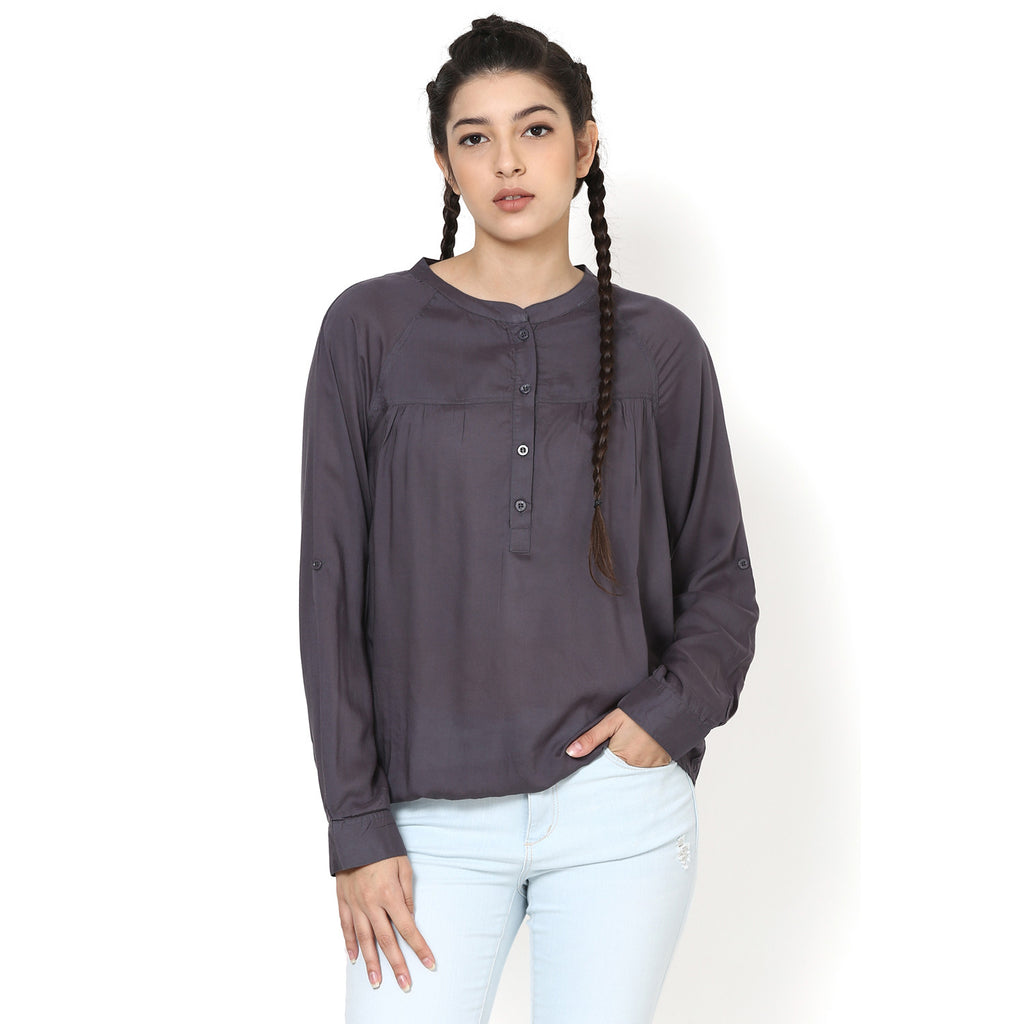 Charlotte Grey Peasant Top