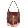 Priya Brown Fringed Bag