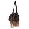 Suede Hobo Ringed Bag