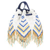 Canvas Beaded Bag