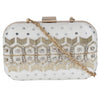 White Fairytale Embellished Clutch