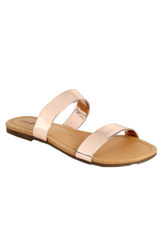 ICE ROSE GOLD SANDAL