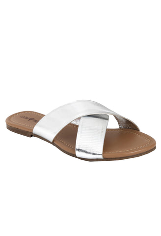 Gloria SILVER CROSS SANDAL
