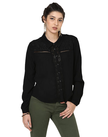 Loom Tree Embroidered Shirt