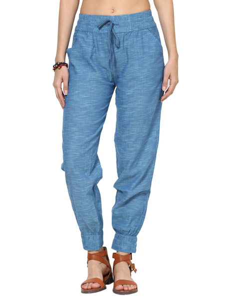 Loom Tree Blue Joggers Pants