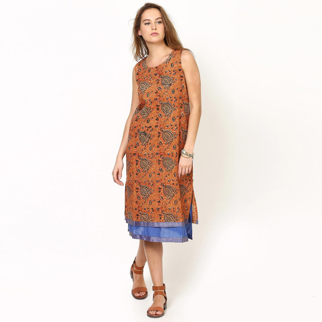 Loom Tree Layered Shift Dress