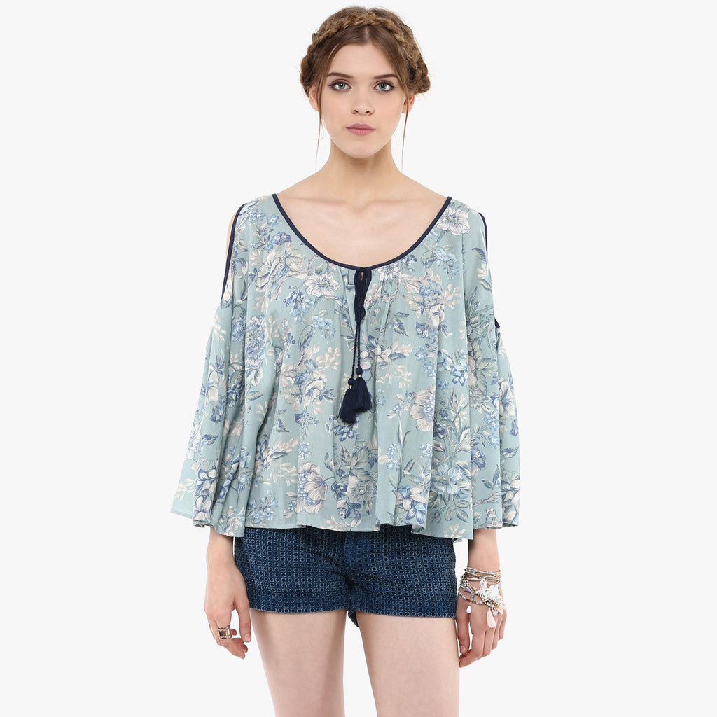 Pallabi Cold Shoulder Top