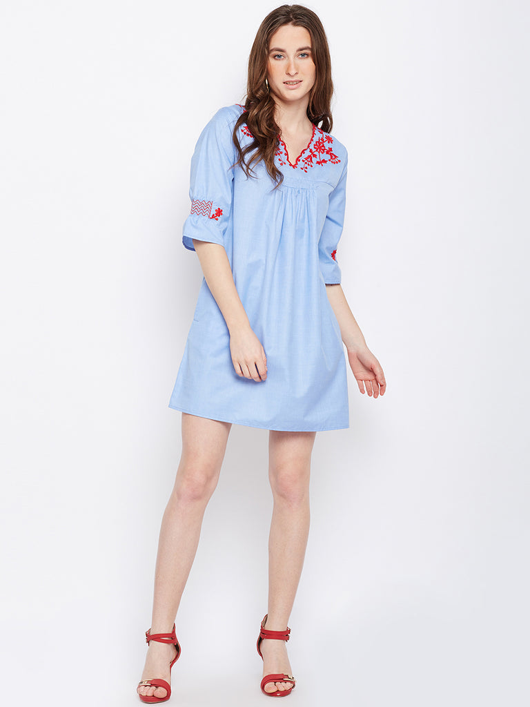 Camilla chambray dress