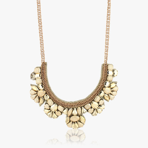 Nira Chunky Embellished Necklace