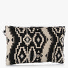 Timura Contrast Beaded Envelope Clutch