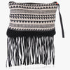 Lanu Fringed Clutch