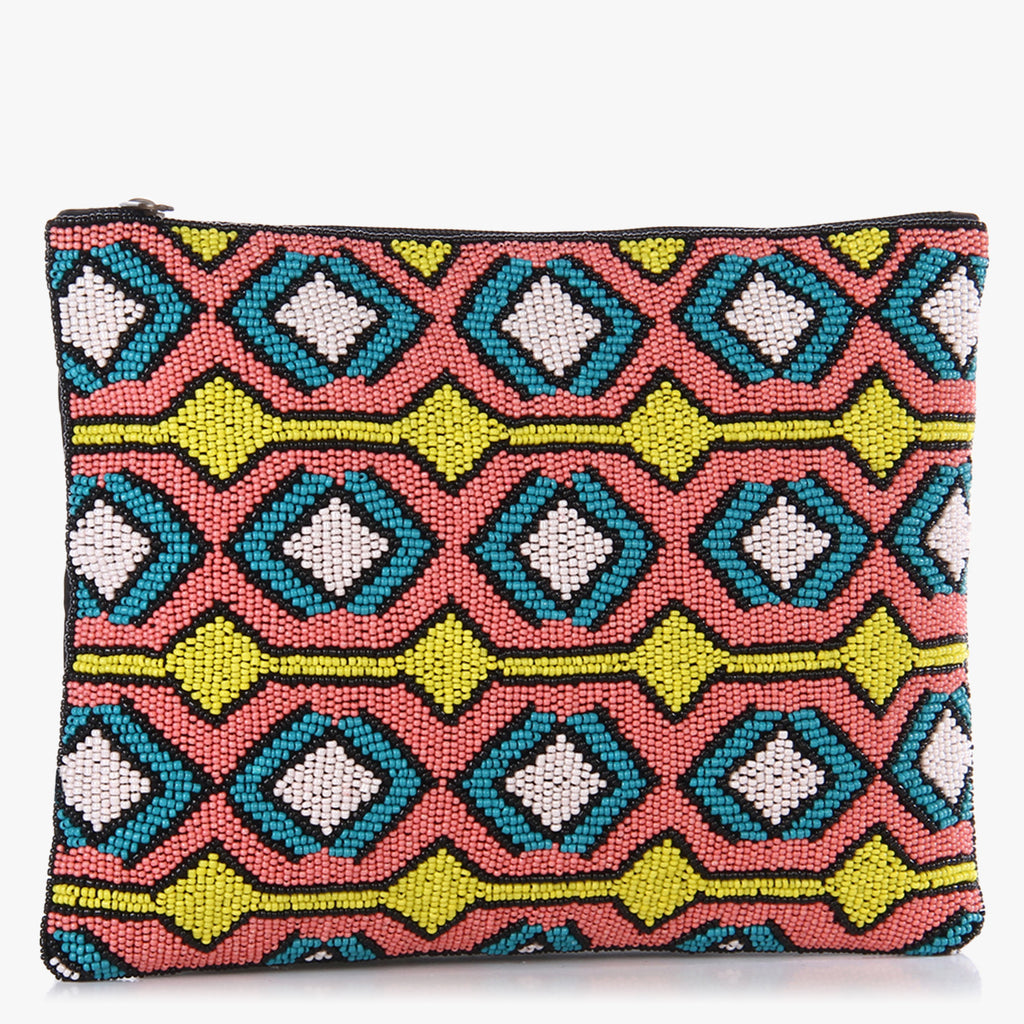 Pinaki Beaded Clutch