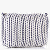 Nendi Embroidered Denim Clutch