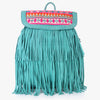 Hetvi Fringed Suede Backpack