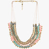 Bhoomi Multi Coloured Layered Necklace