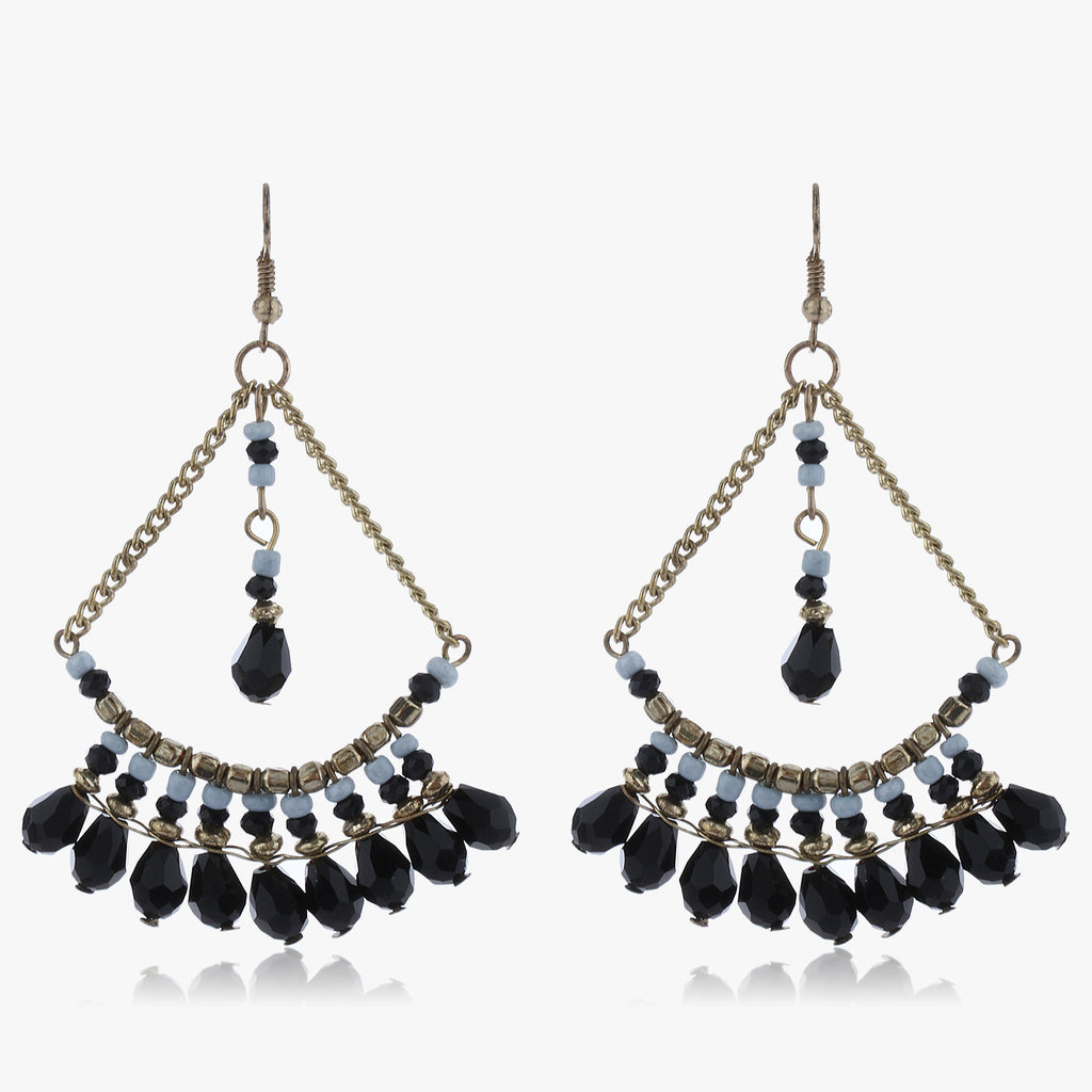 Sakya Wire Drop Earrings