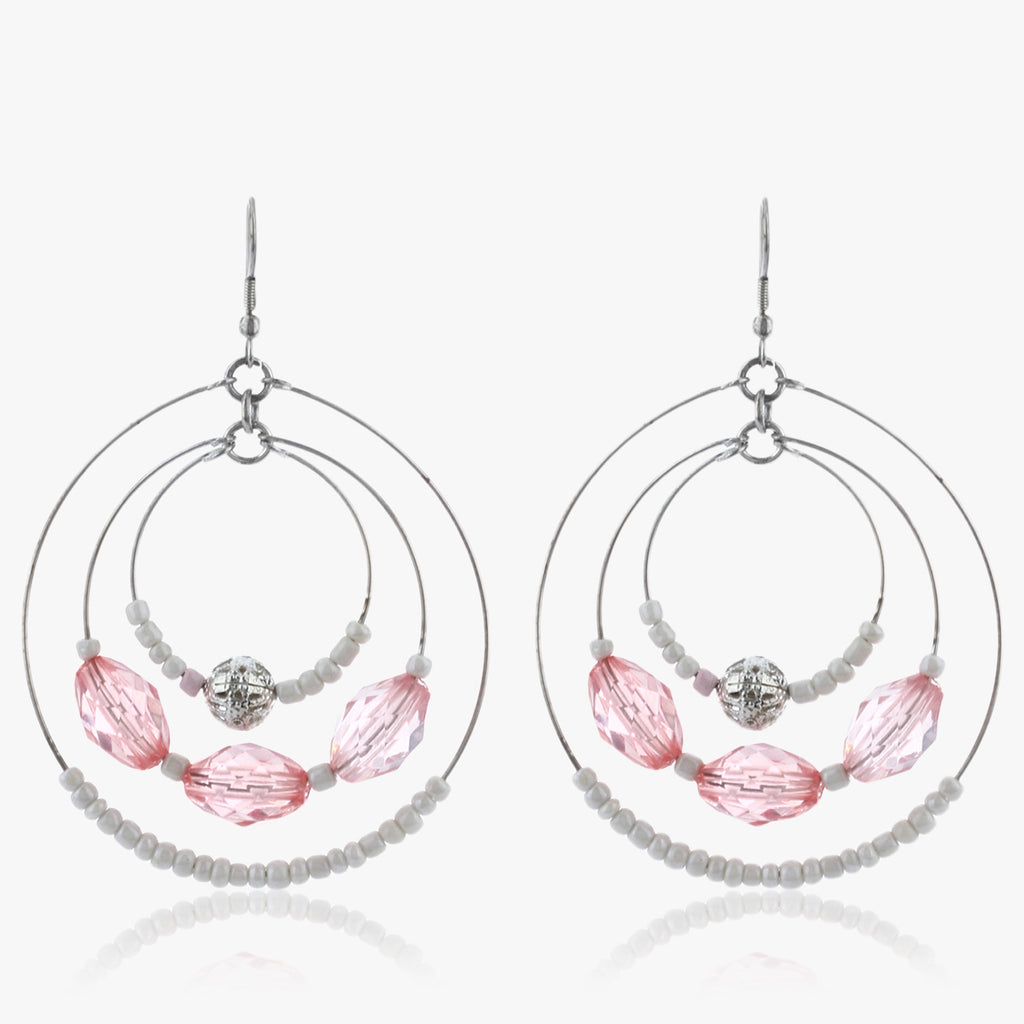 Nadiya Triple Hoop Earrings