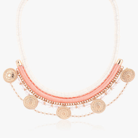Bamya Multi-strand Thread Necklace