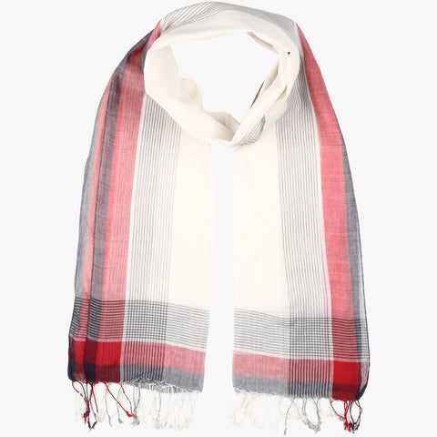Ujas Handwoven Striped Stole