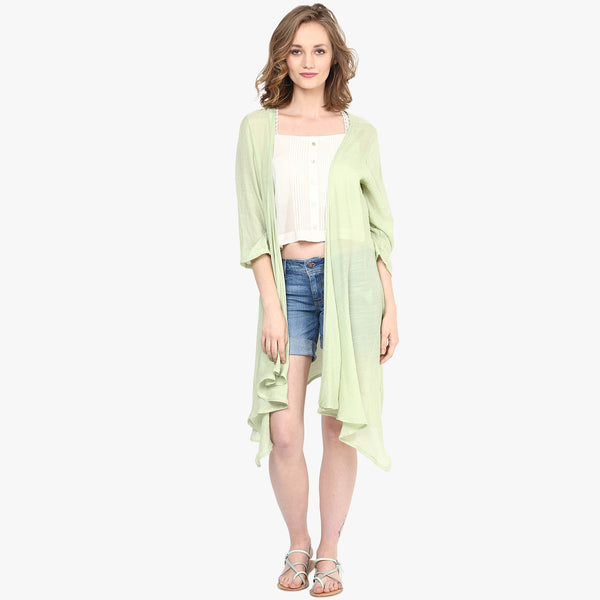Jasia Solid Cover up with Sleeves