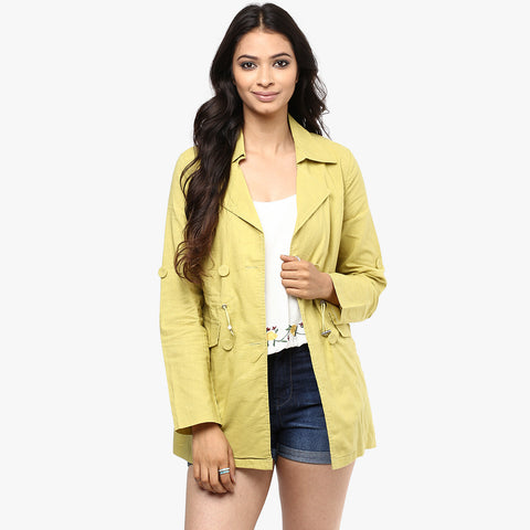 Nydia Solid Summer Jacket