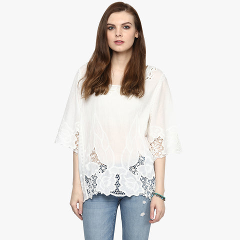 Katelyn Embroidered Top