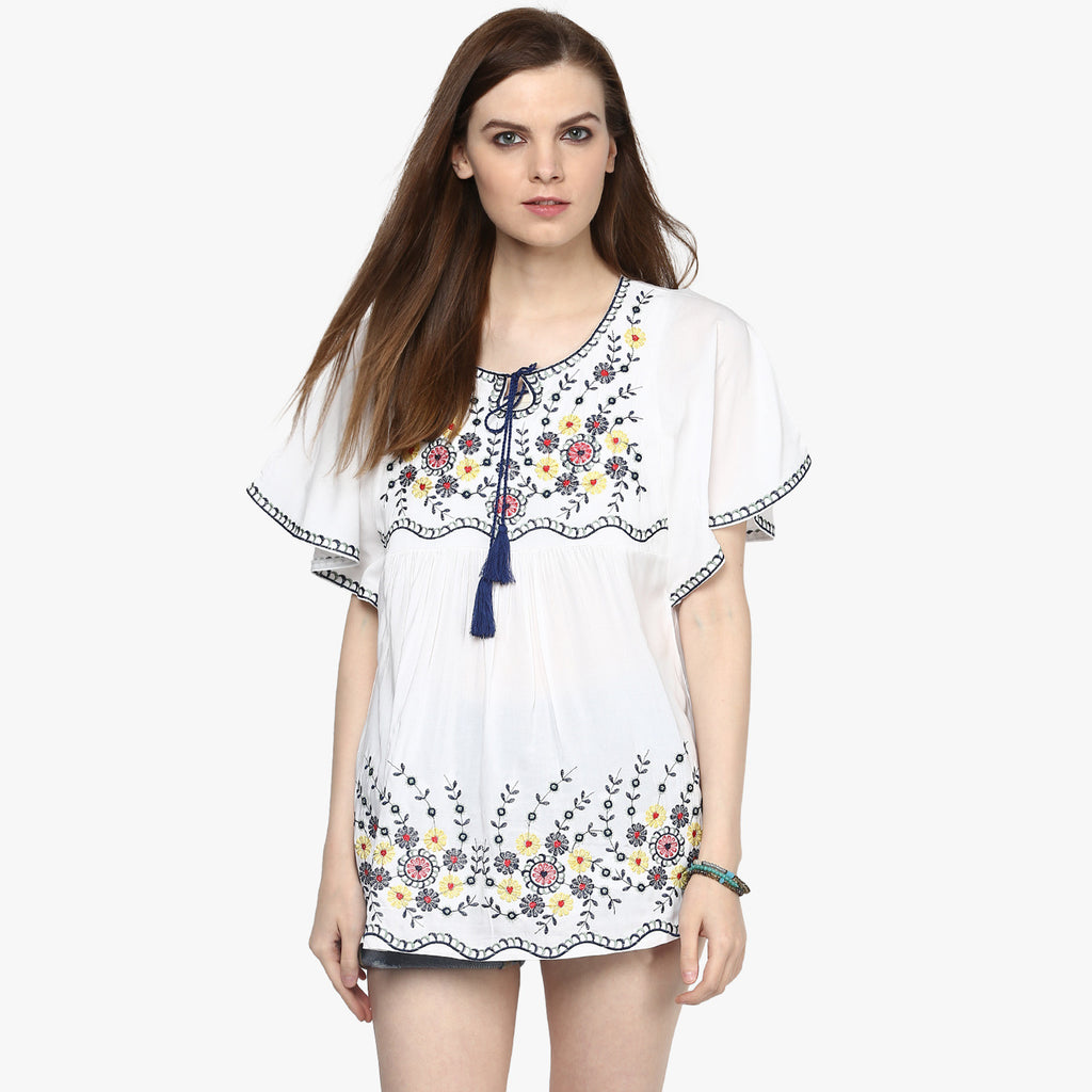 Anja Embroidered tunic