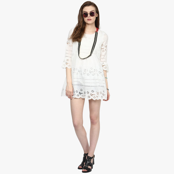 Isabel Embroidered Tunic