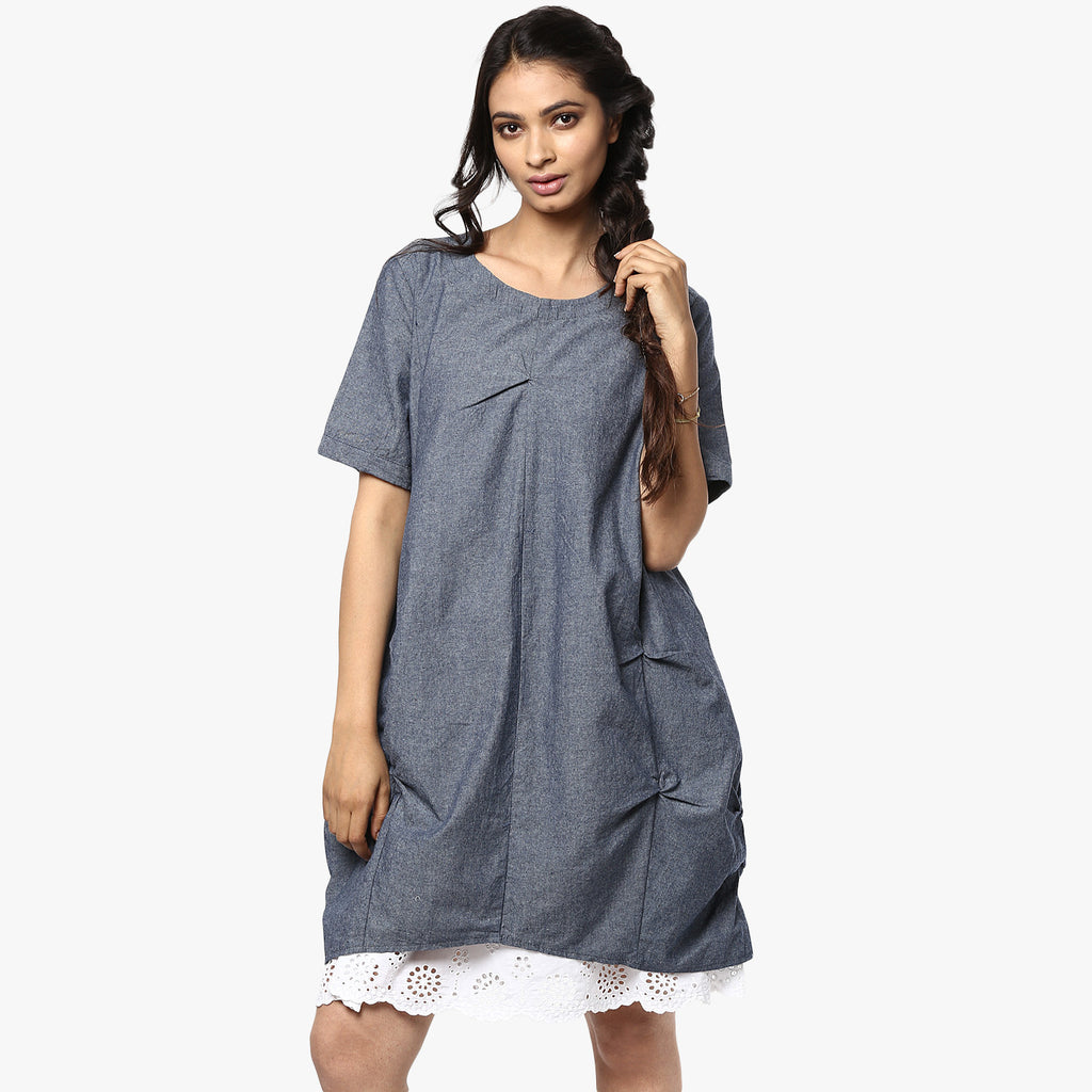 Shari Draped Dress