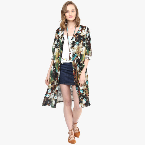 Jana Printed Shirt Jacket