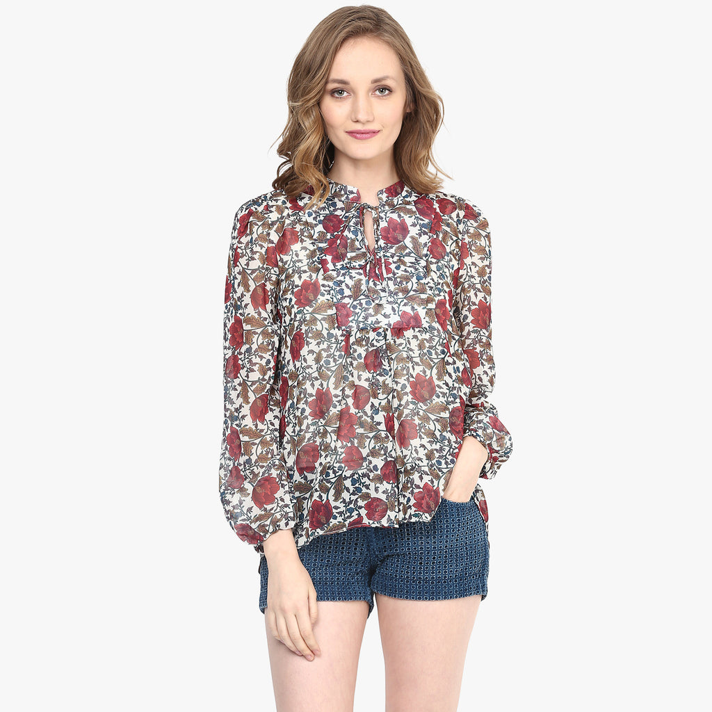 Molly Printed Top