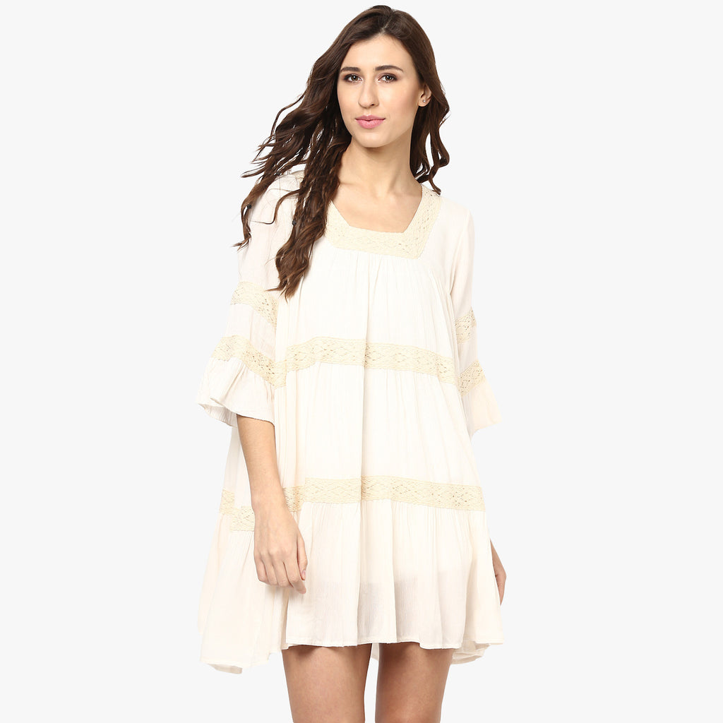 Poorvi Flowy Swing Dress