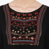 Zarah Embroidered Peasant Top
