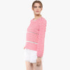 Anjuri Striped Boxy Top