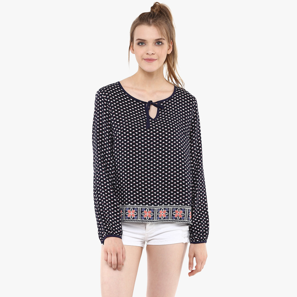 Samhita Printed Top