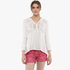 Alika Lace Insert Top