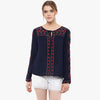 Mila Embroidered Top