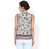 Kumah Printed Top with Embroidery