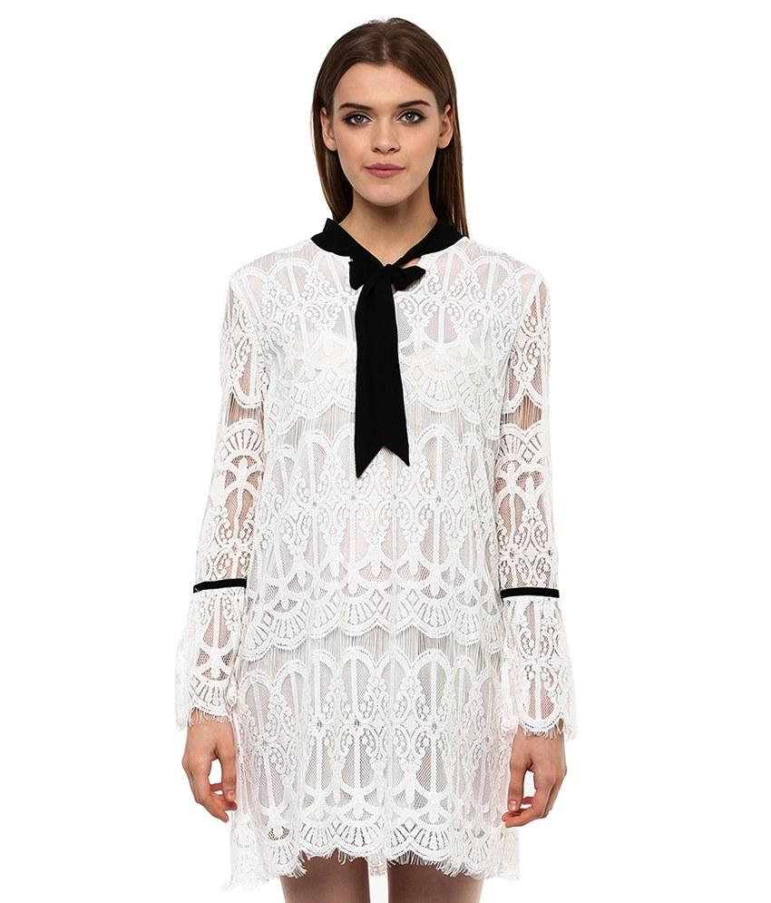Loom Tree Lace Swing Dress